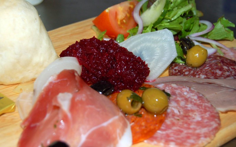 Cumbrian cured meats and pickles